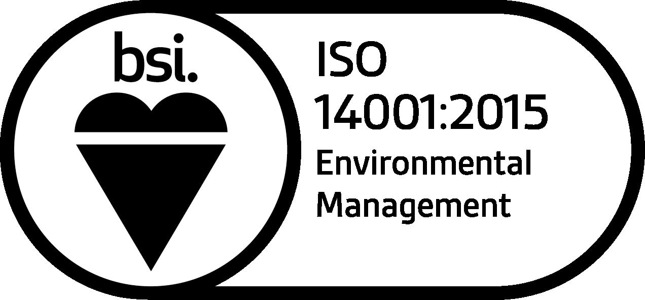 BSI ISO 140001 Logo